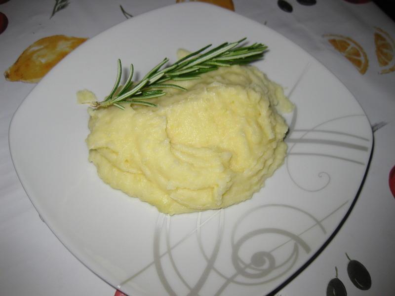 spuma di patate