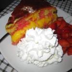 Pan di Spagna con crema alla vaniglia
