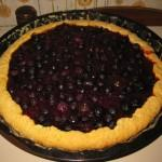 Crostata di mirtilli freschi