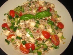 insalata di farro italiana