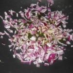 soffriggere la cipolla tritata