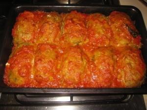 polpette di verdure al forno
