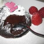 Tortino con cuore morbido di cioccolato