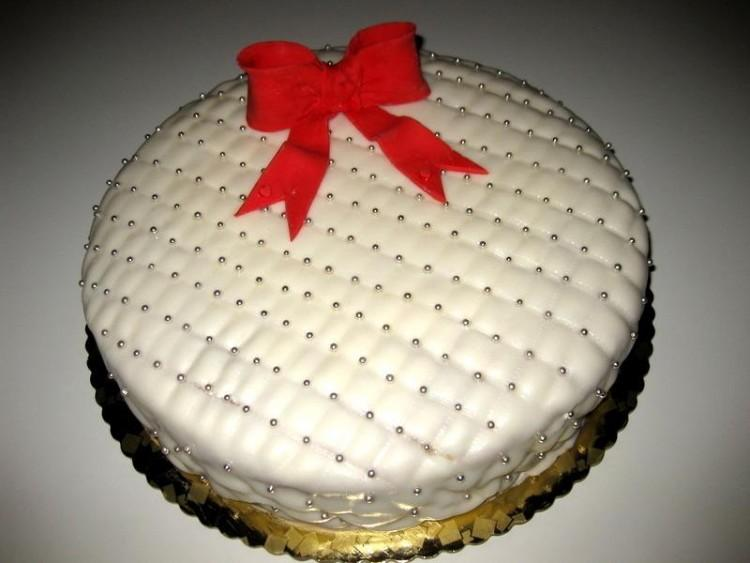 torta laurea bianca e rossa