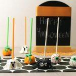 Cake pops di Halloween