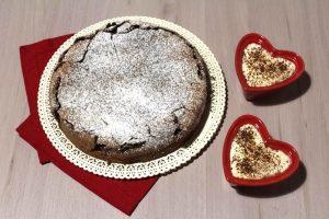 Torta tenerina con crema al mascarpone