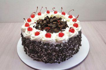 torta foresta nera con amarene sciroppate
