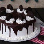 Drip cake agli oreo