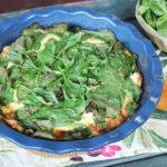 Frittata di ricotta e spinacini al forno