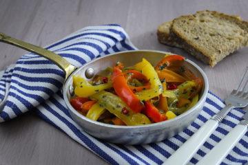 peperoni piccanti in padella