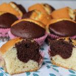 Muffin bicolore