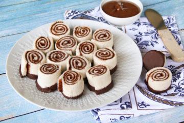 Girelle di pancarrè alla Nutella