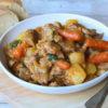 Spezzatino con carote e patate