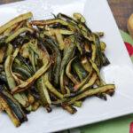 Bastoncini di zucchine al forno senza panatura