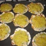 Conchiglie di bianchetto in crosta di patate