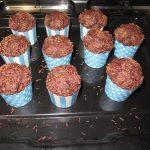 muffin al cacao senza lattosio
