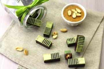 cioccolatini ripieni di burro d'arachidi