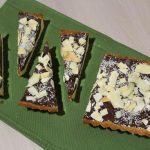 Crostata cocco e cioccolato senza glutine