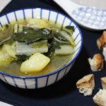 Zuppa di coste e patate