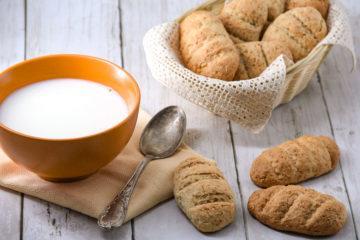Biscottoni integrali allo yogurt