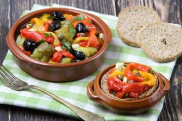 insalata di peperoni