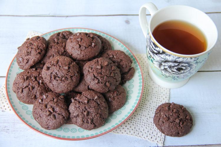 Biscotti yogurt e cacao